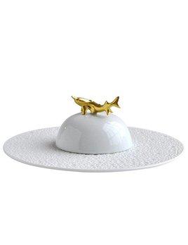 Bernardaud Ecume White Caviar Set