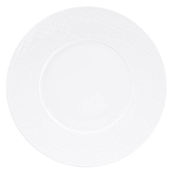 Organza Coupe Dinner Plate