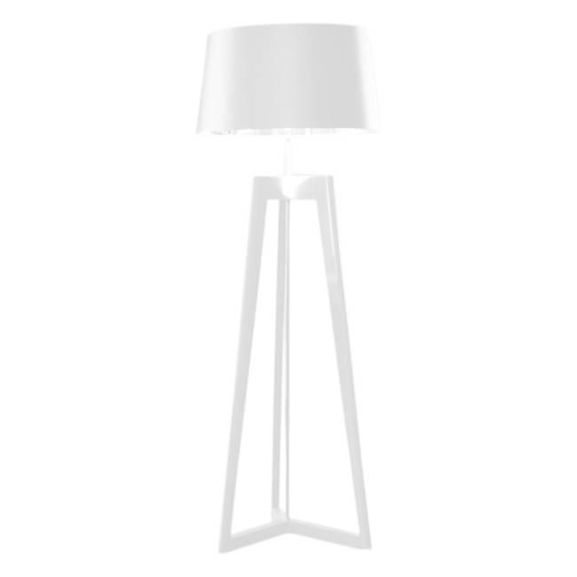 Costantini Pietro Bon Ton Floor Lamp - White HG w/White Shade