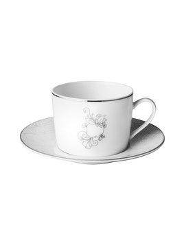 Christofle Jardin d'Eden Tea Cup & Sacuer