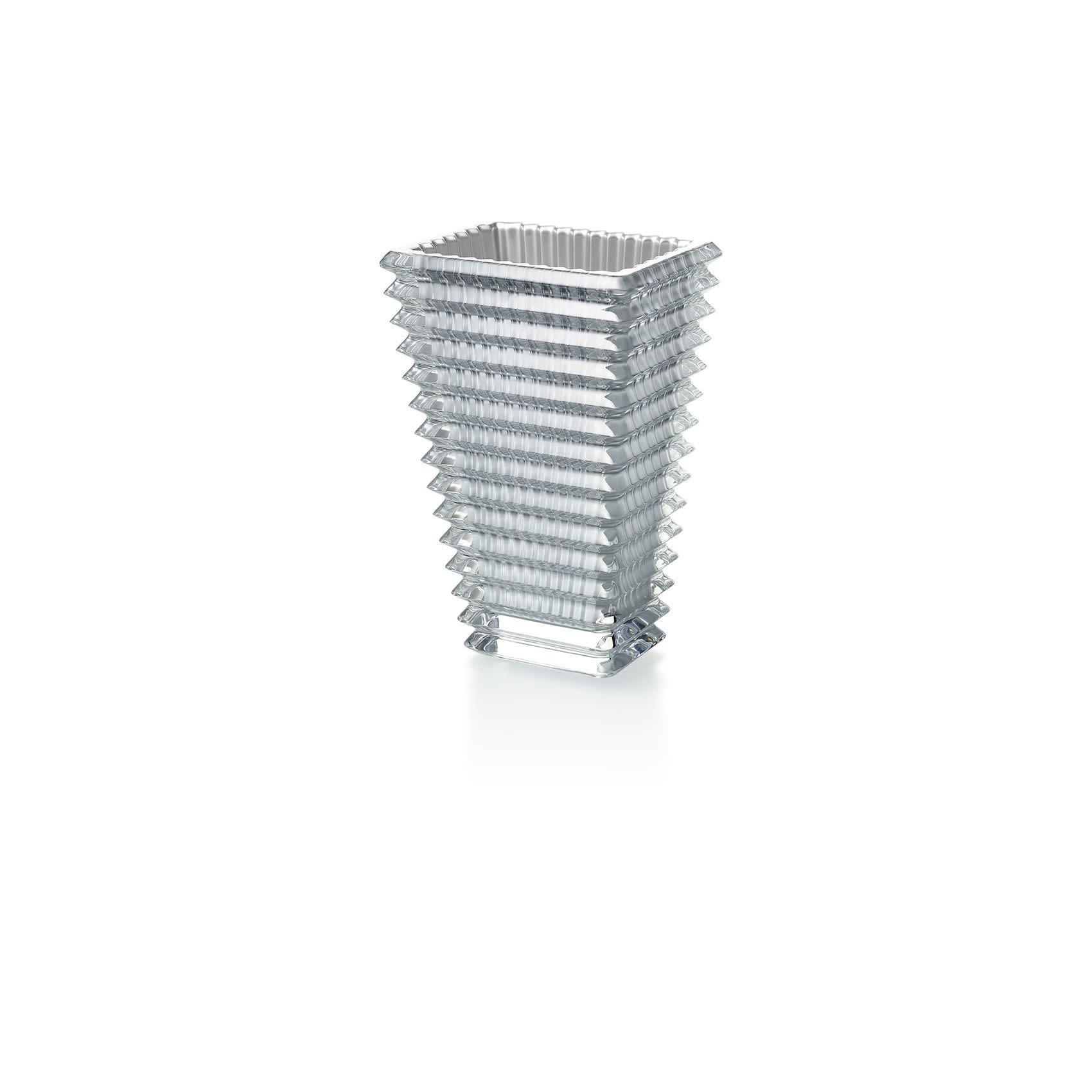 Baccarat Eye Vase Silver Small
