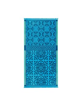Santorini Beach Towel