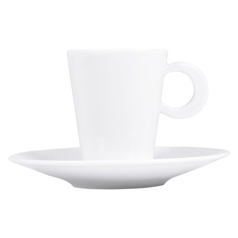 Bernardaud Organza Espresso Cup & Saucer