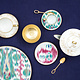 Hermes Voyage en Ikat Bread and Butter Plate