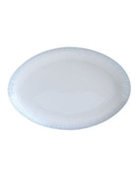 Bernardaud Saphir Bleu Oval Platter 13 In