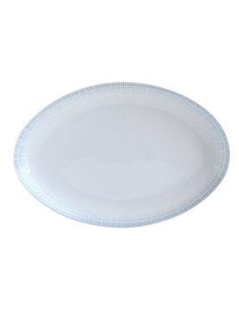 Bernardaud Saphir Bleu Oval Platter 15 In