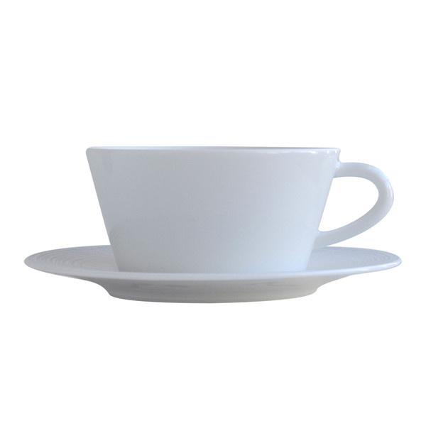 Bernardaud Saphir Bleu Tea Cup & Saucer