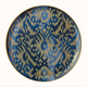Hermes Ikat Large Round Platter