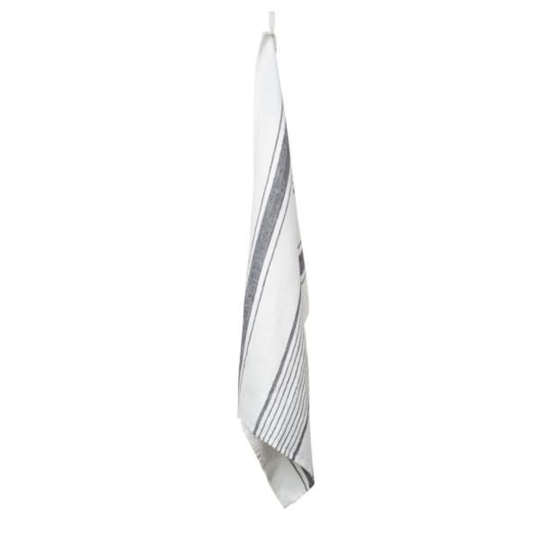 Harmony Aubagne Kitchen Towel White & Granite