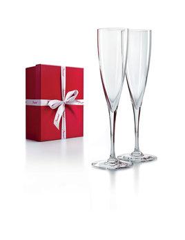 Baccarat Dom Perignon Champagne Flute Box S/2