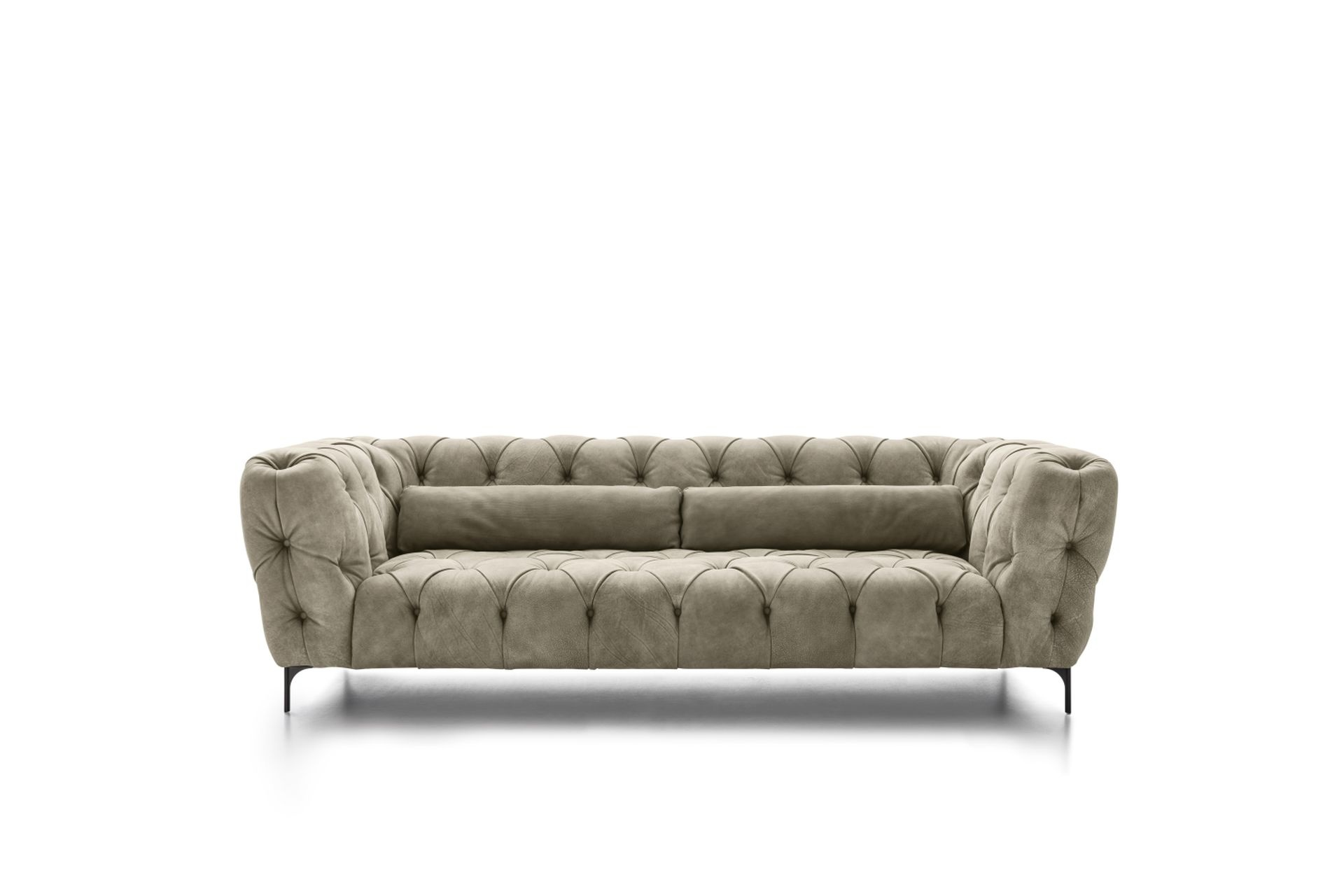 Dokos Navy Velvet Sectional