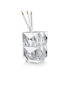 Baccarat Louxor Pencil Holder Clear