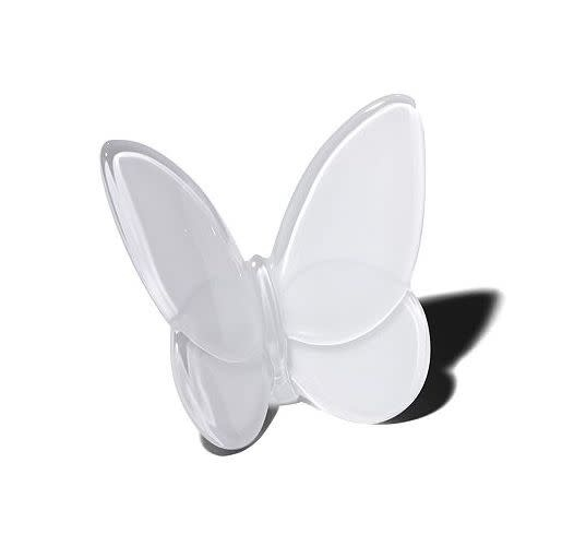 Baccarat Lucky Butterfly White