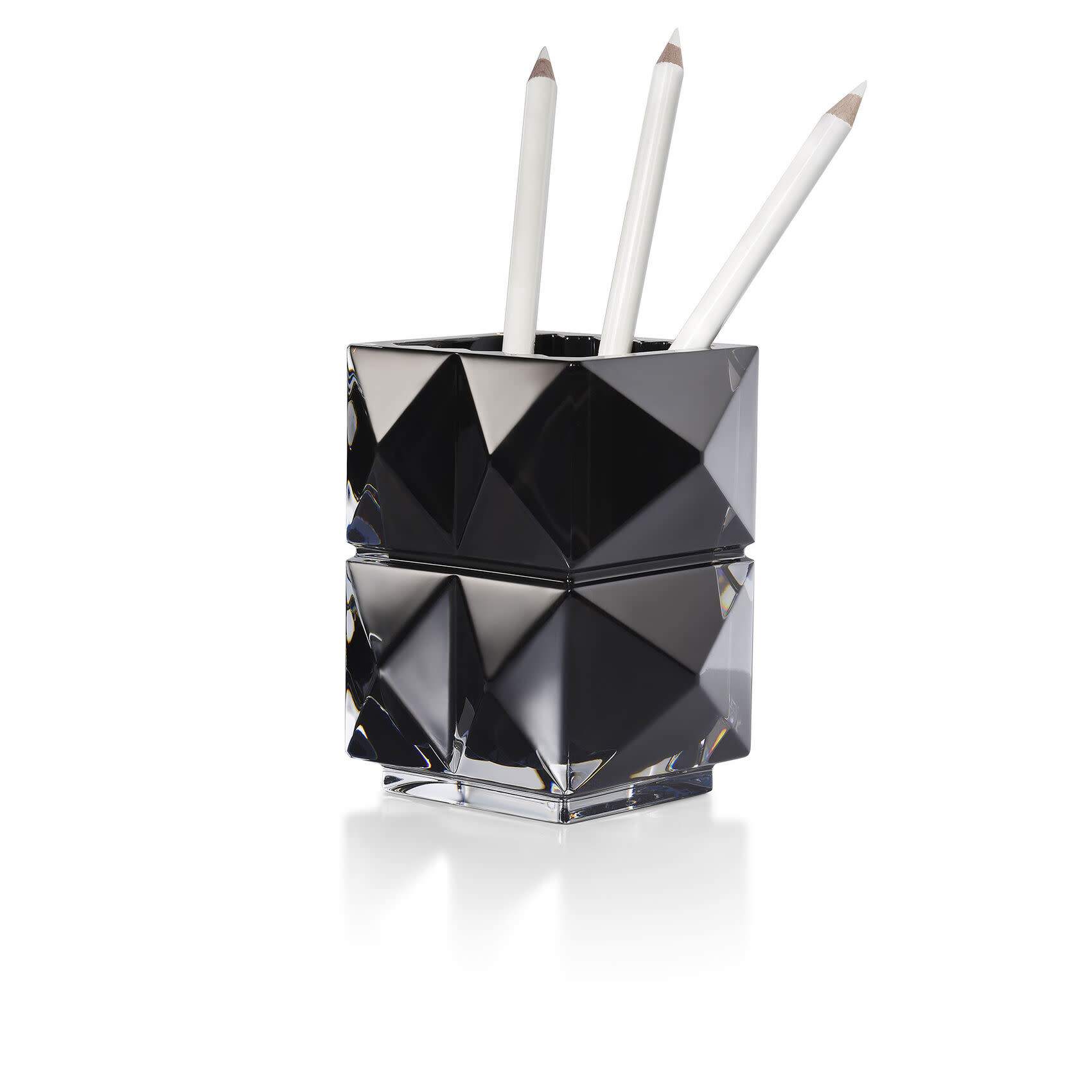 Baccarat Louxor Pencil Holder Black