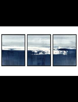 Benson & Cobb Coastal Landscape Triptych
