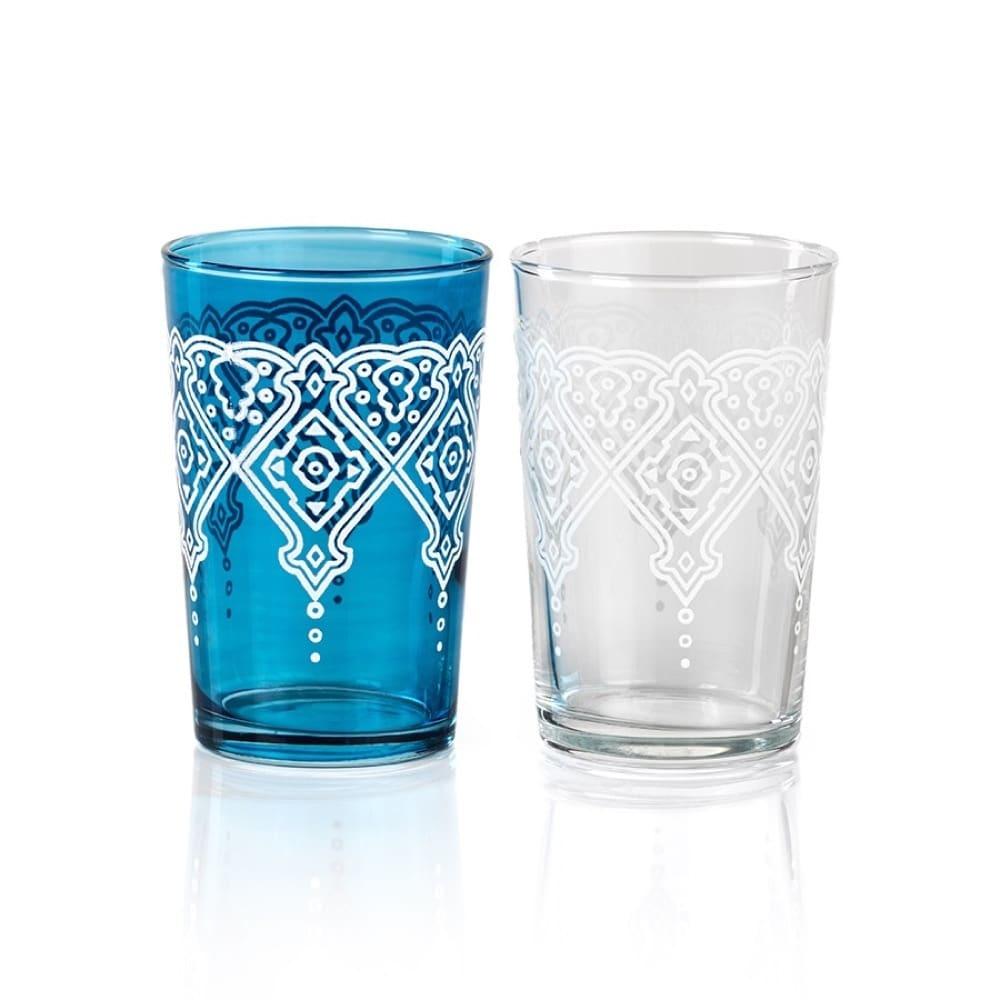 Mazagan Blue Tea Light Holder