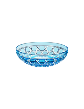 Saint-Louis Royal Bowl Sky Blue