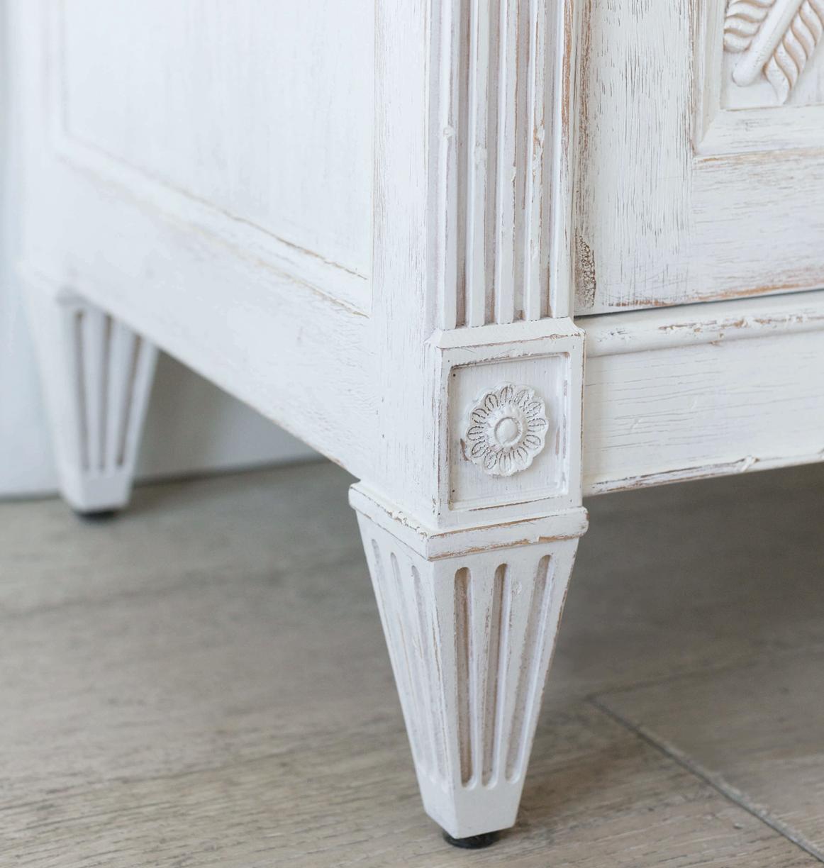 Artemis Sideboard in Gustavian White Finish