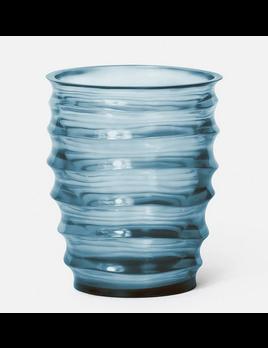 Hetty Vase Blue/ Grey Resin