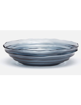 Hetty Bowl  Blue/ Grey Resin