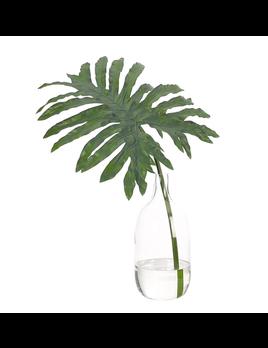NDI Leaf in Glass Bottle Large
