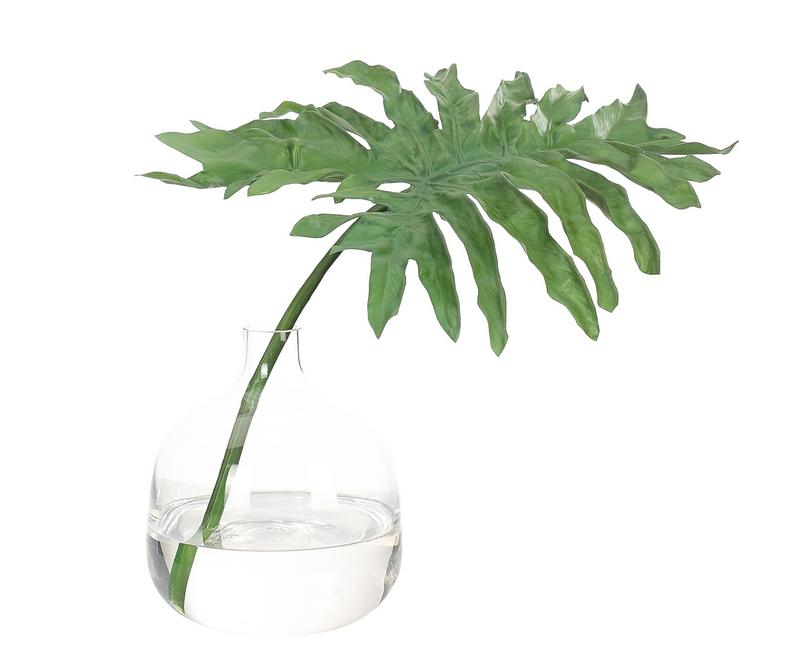 NDI Leaf in Glass Bottle Small