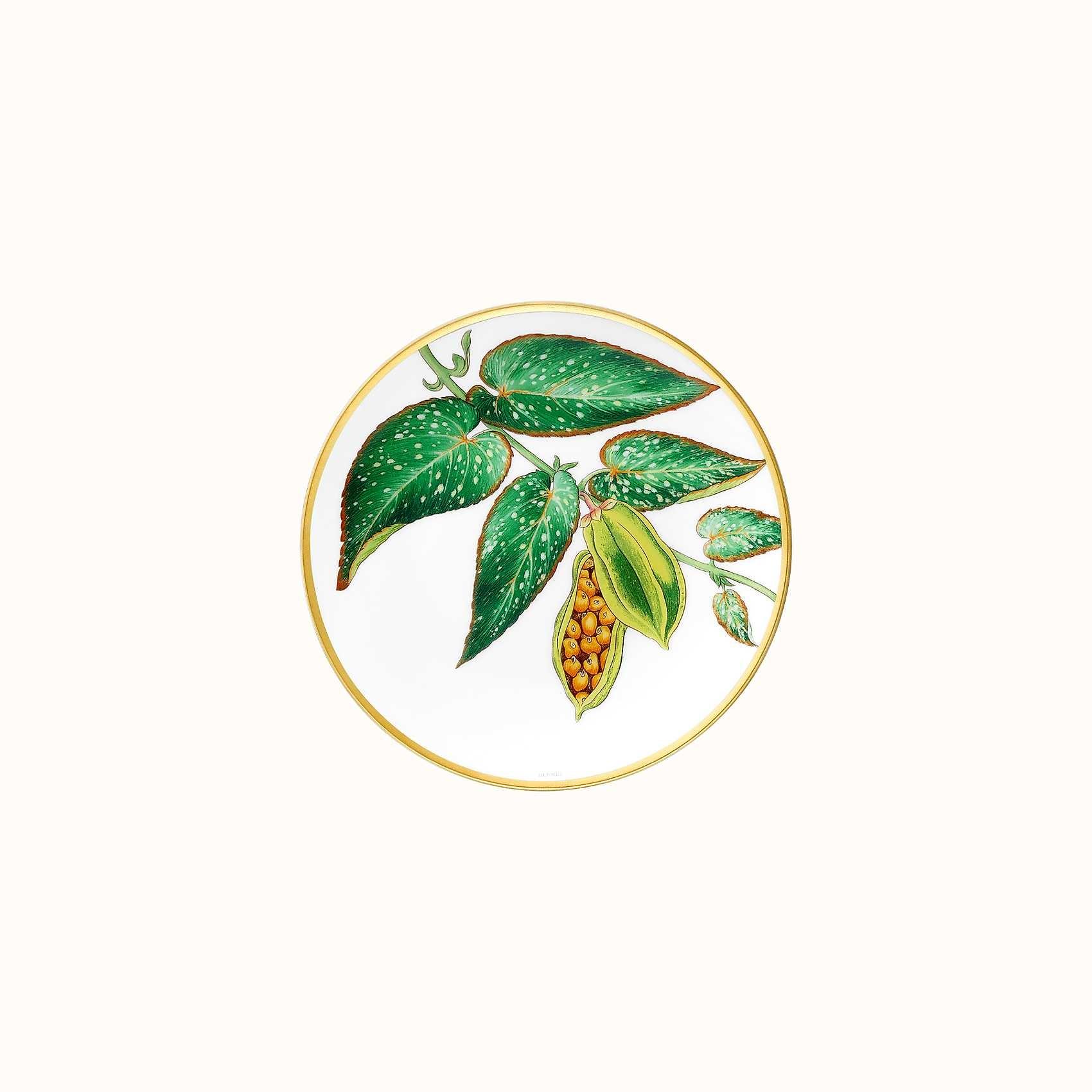 Hermes Passifolia Bread & Butter Plate Tamaya