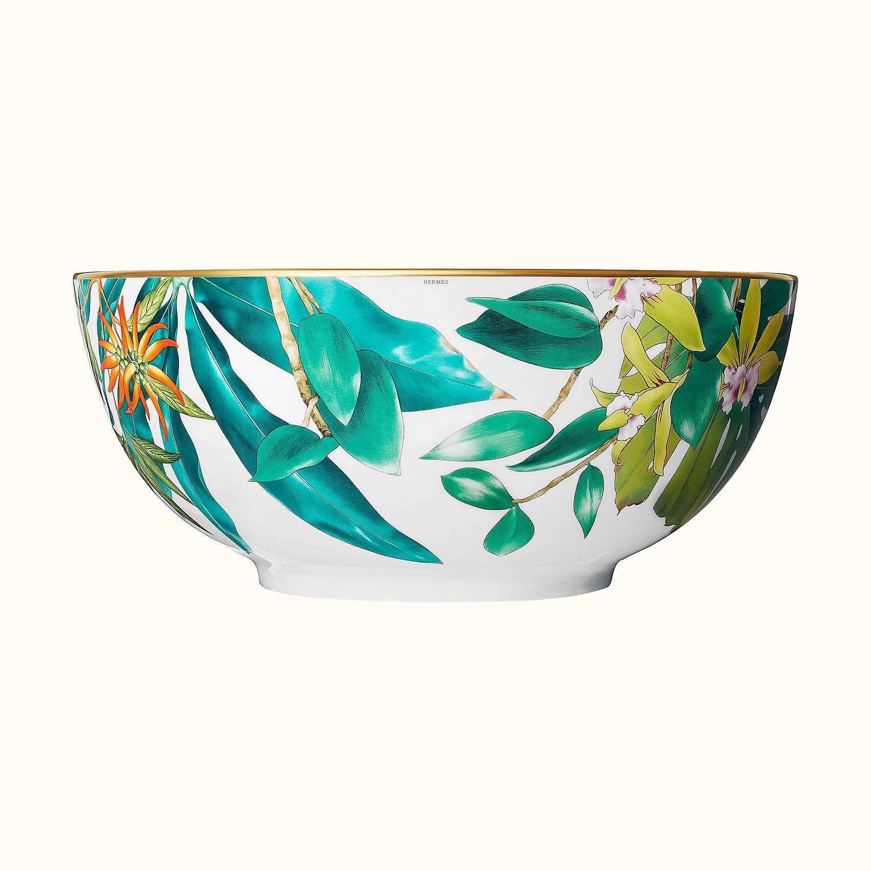 Hermes Passifolia Large Salad Bowl