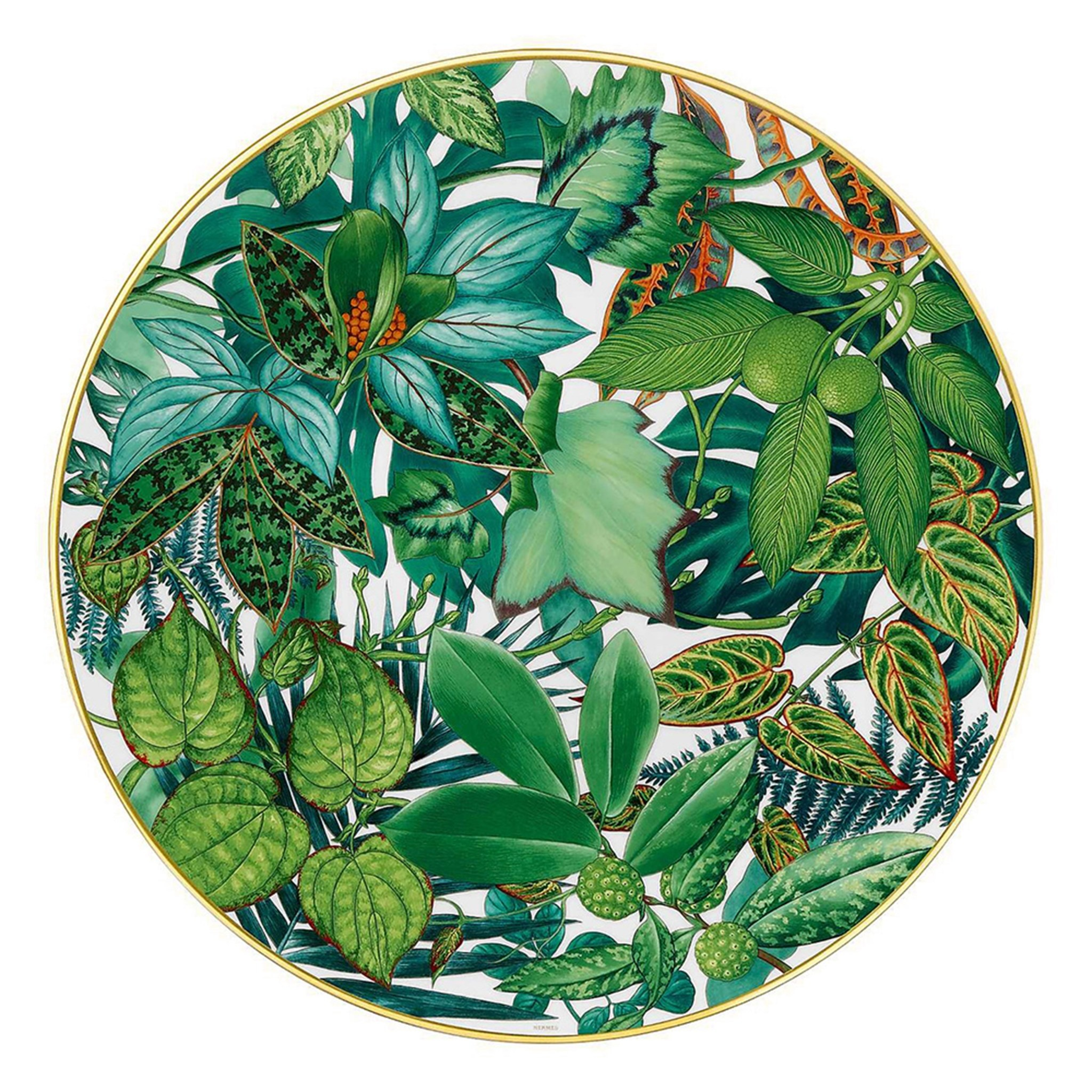 Hermes Passifolia Charger