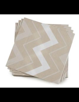 Le Jacquard Francais Paper Napkins Rock Dune