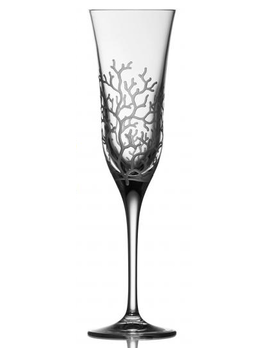 Varga Coral Clear Champagne Flute