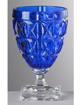 Mario Luca Giusti Stella Wine Glass Blue