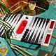 Baccarat Backgammon Game by Marcel Wanders Studio