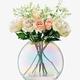 Fink Pearl Vase Lg