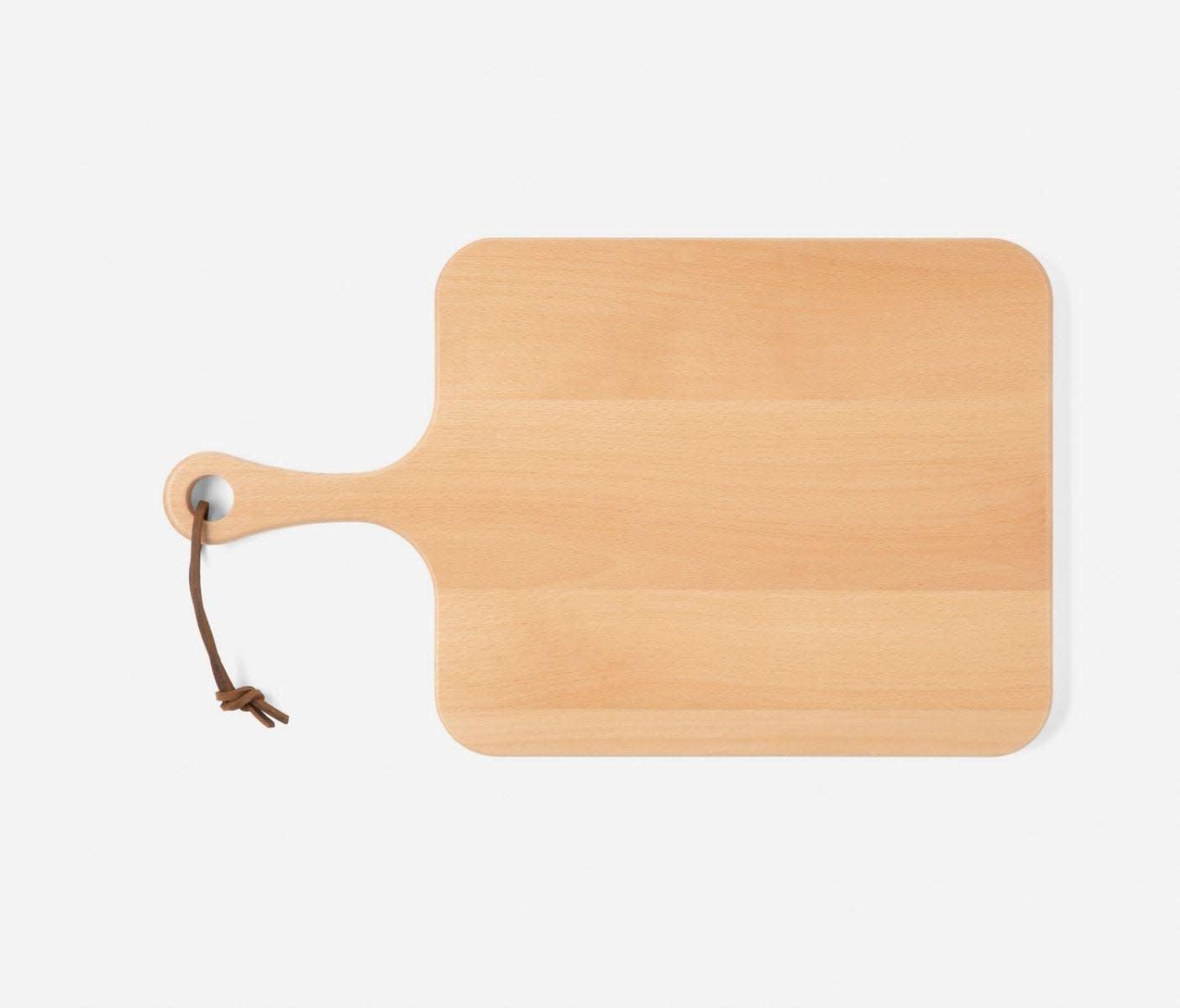 Blue Pheasant Edmund Natural Beech Wood Serving Board 22 x 13