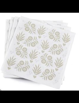 Le Jacquard Francais Vent D'Ouest Rye Paper Napkin