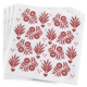 Le Jacquard Francais Vent D'Ouest Strawberry Paper Napkin