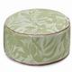 """Le Jacquard Francais Nature Urbaine Green Pouf 20""""x12"""""""