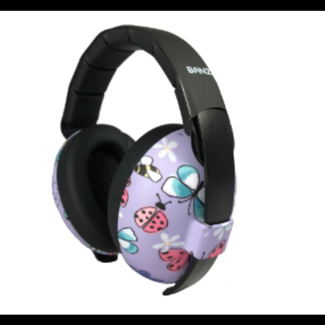 Banz - Baby Mini Earmuffs - Butterflies - 0-2yrs