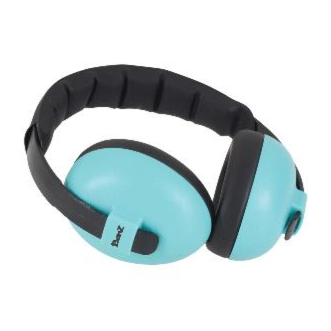 Banz - Baby Mini Earmuffs - Aqua / Lagoon Blue - 0-2yrs