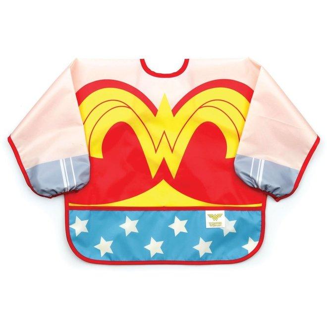 Bumkins DC Comics Costume Sleeved Bib-Wonder Woman Comic