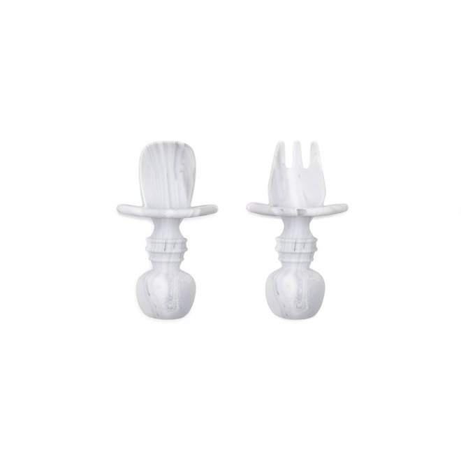 Bumkins - Silicone Chewtensils - Marble