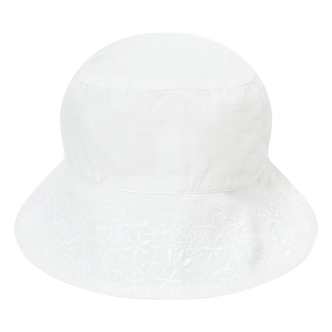 Carrement Beau Chapeau De Ceremonie Hat-White