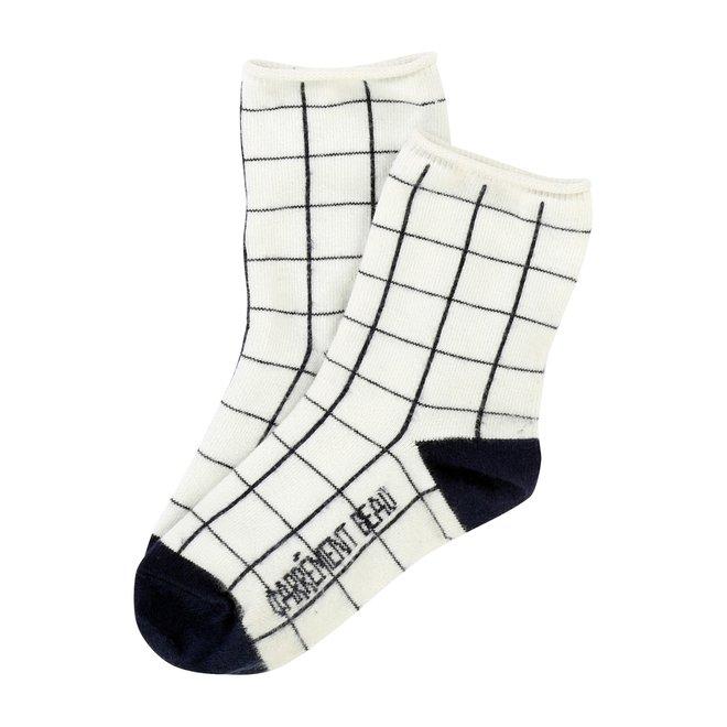 Carrement Beau Chaussettes Socks-Narube Ecru