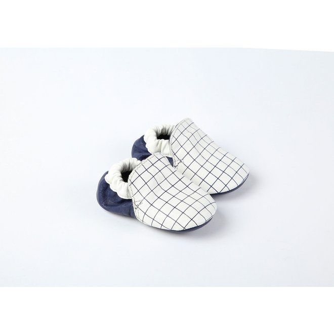 Carrement Beau  Baby Shoes-Blue Indigo