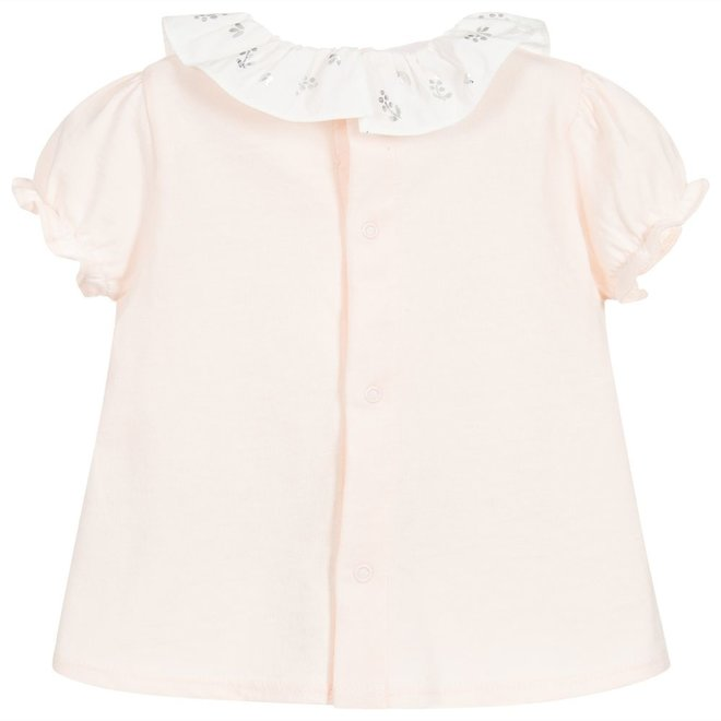 Carrement Beau Tee-Shirt With Lace-Oeillet