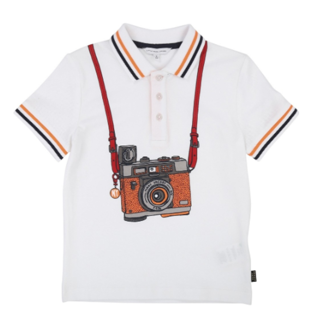 Little Marc Jacobs POLO SHIRT WHITE
