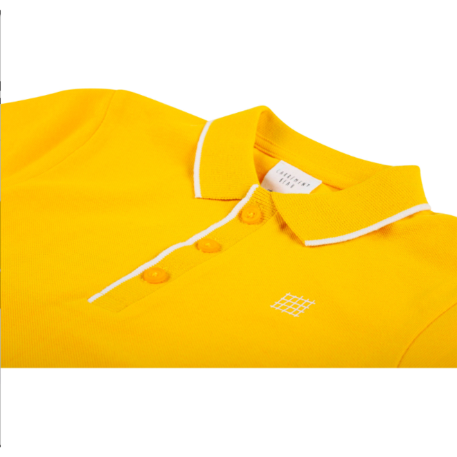 Carrement Beau SHORT SLEEVE POLO YELLOW