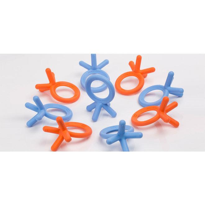 Comotomo - Silicone Baby Teether - Orange