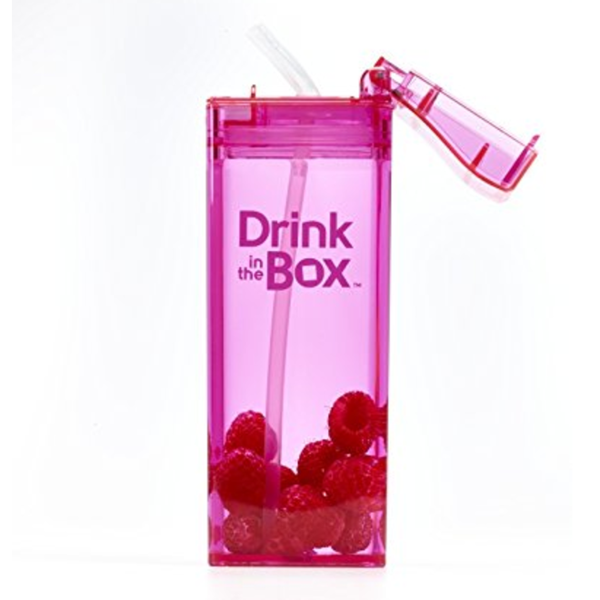 Drink in the Box  12oz-Pink